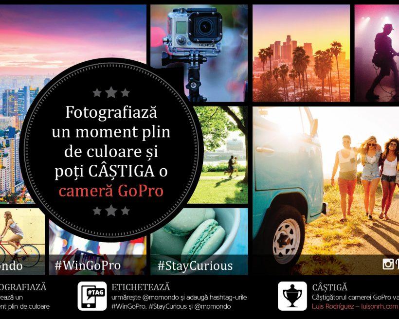 Fotografiază un moment plin de culoare & câștigă o cameră GoPro