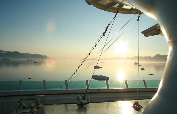 La bordul vasului Hurtigruten