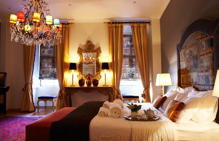 Casa de Santos, cazare luxoasă în Lisabona, la preț accesibil.