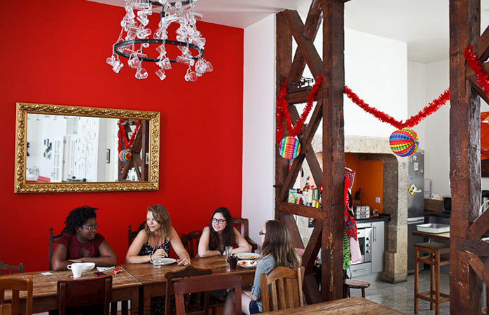 Atmosferă relaxată în Living Lounge, Lisabona.