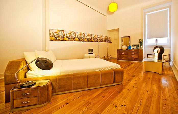 Camere elegante la hostelul Lisbon Calling.