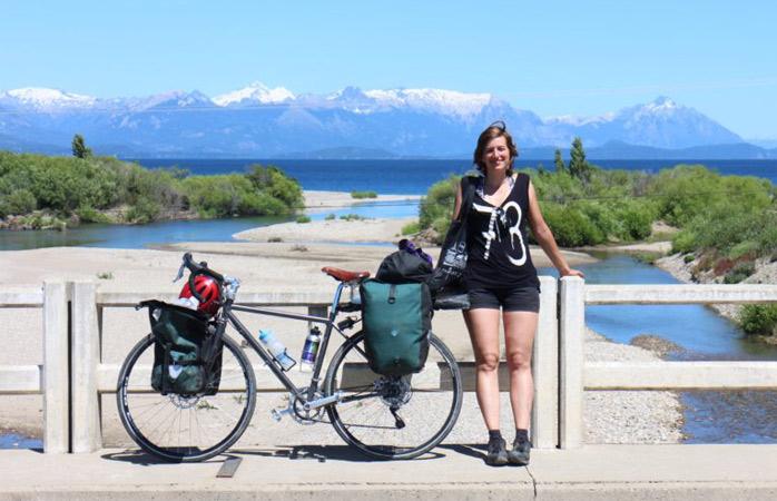 2015, undeva în Patagonia, la o pauză de admirat peisajul