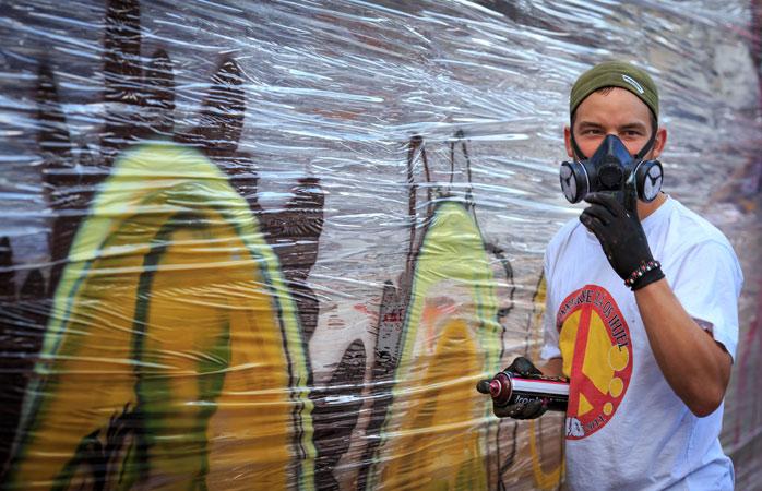 De ce să nu respiri același aer și să te protejezi de ploaie sub aceleași acoperișuri cu cei mai de seamă artiști urbani danezi la Meeting of Styles din Copenhaga?