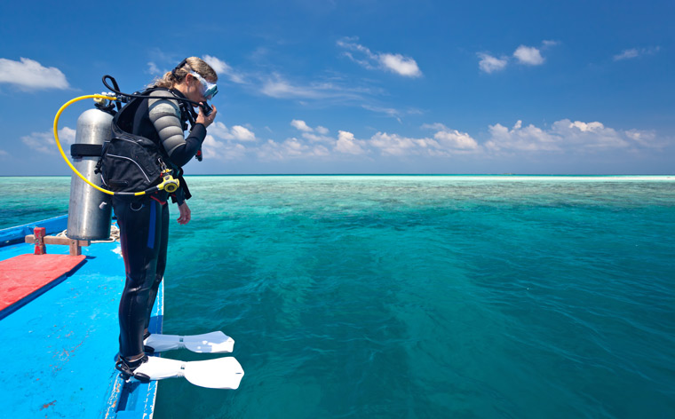 scuba scufundări te face să pierzi în greutate)