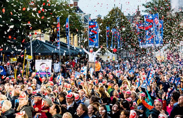 Leeuwarden-Friesland sărbătorește prezentarea programului oficial pentru întregul an