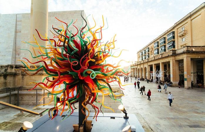 Pe tot întinsul anului, capitala Maltei abundă de activități culturale