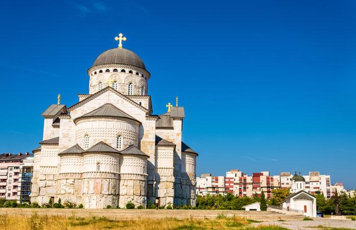 Catedrala Reînvierii lui Iisus din Podgorica, Muntenegru