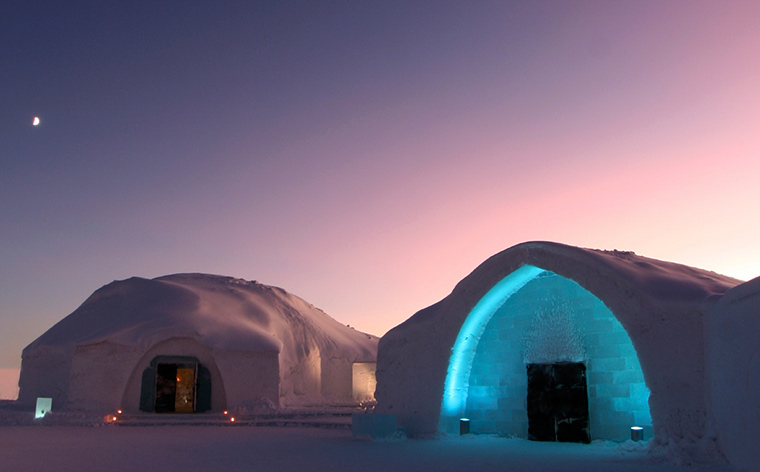 Top 5 hoteluri de gheață din lume
