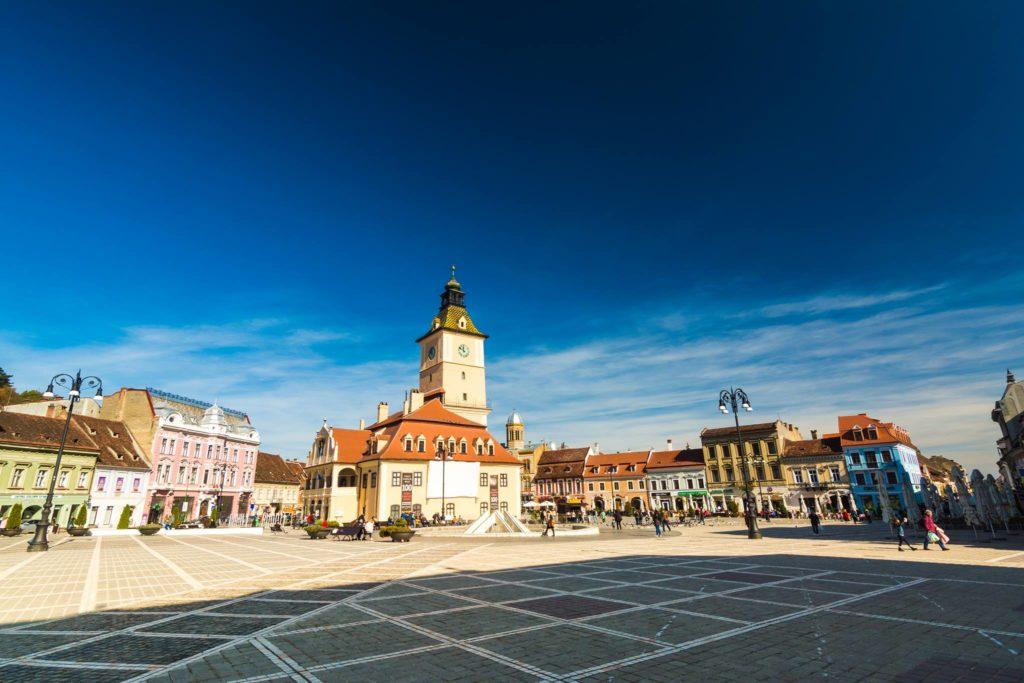 Centrul vechi din Brașov - autor: Daniel Stefan