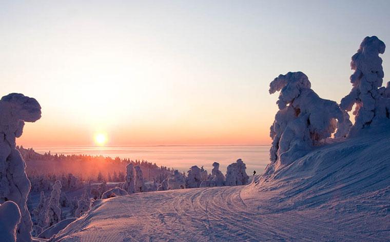 Cele mai bune 10 stațiuni de schi din țările nordice