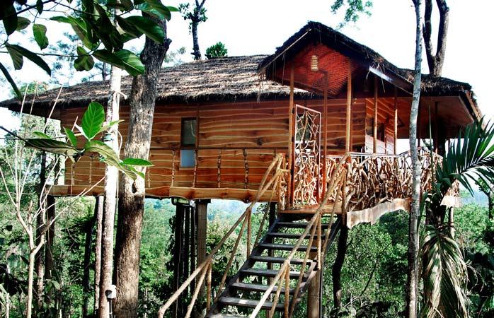 Tranquil Resort din Kerala, un loc neobișnuit și frumos în care să îți petreci vacanța în India