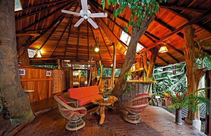 Bucură-te de o pauză de relaxare în Tree House Lodge din Costa Rica. © Tree House Lodge