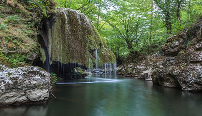 Cascada Bigăr - una dintre cele mai spectaculoase căderi de apă