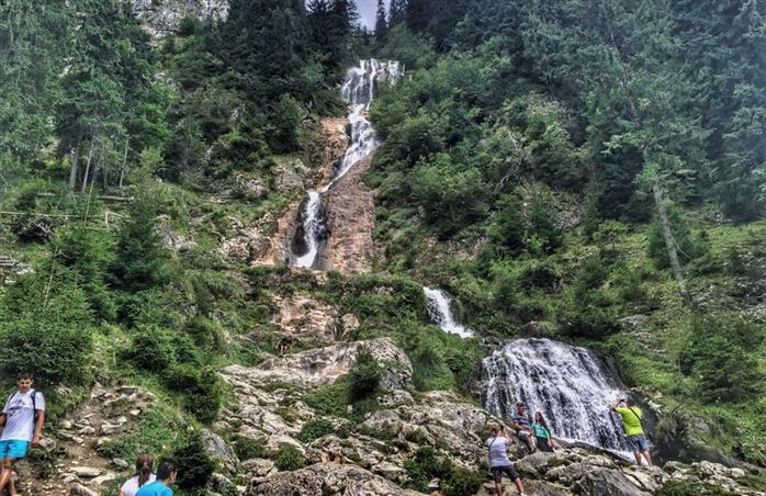 Silva Logistic Services. Cascada Cailor din  Munții Rodnei, cea mai mare cascada din Romania!