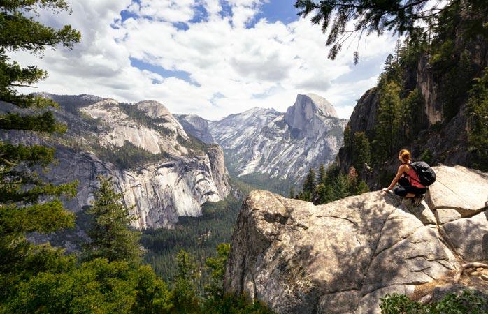 """Încă puțin și ești deja acolo! Cum unde """"acolo""""? Pe Half Dome din Parcul Național Yosemite"""