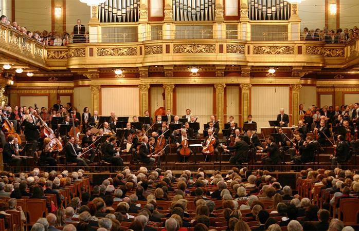 Sala Mare, la Musikverein din Viena. © travellingtamas