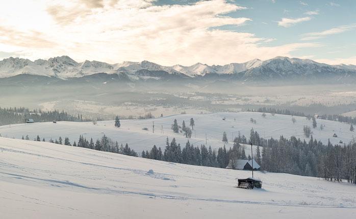 """Munții polonezi Tatra (nu """"tantra"""") - Bialka Tatrzanska, Polonia"""