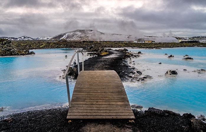 Islanda, Laguna Albastră. Și cuvintele-s de prisos...