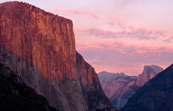 Măreața stâncă de granit, El Capitan, este unul dintre giganții parcului Yosemite