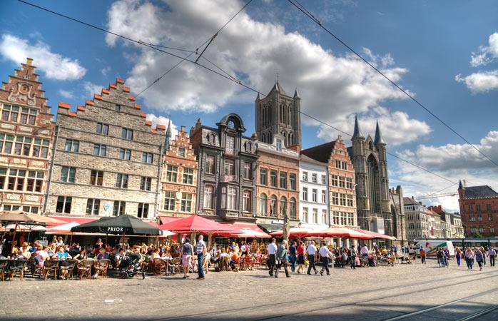 La pas prin centrul încântător al orașului Gent