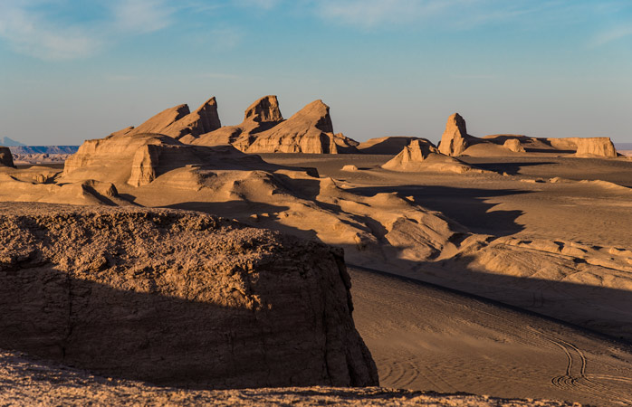 Deșertul Lut este fruntaș pe lista celor mai fierbinți locuri de pe Pământ