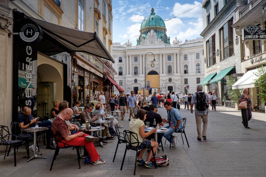 cafenea în vienna