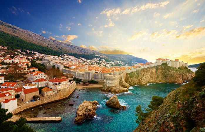 Bucură-te de romantism și de cultura din coasta Adriatică în Dubrovonick, Croația.