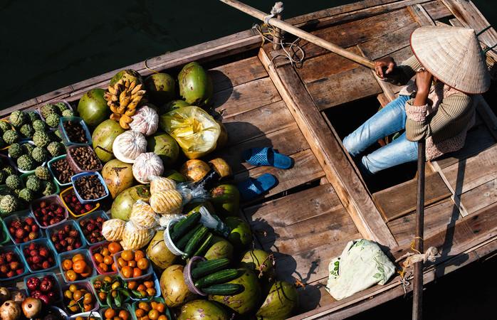 Produsele locale contribuie la crearea unora dintre cele mai speciale arome mondiale, de găsit doar în Vietnam